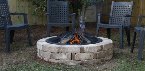 How to Build a Backyard Fire Pit from a Kit | Today's ...