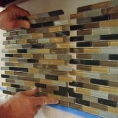 Mosaic Backsplash Kitchen L Shaped Table How To Install A Tile Today S Homeowner