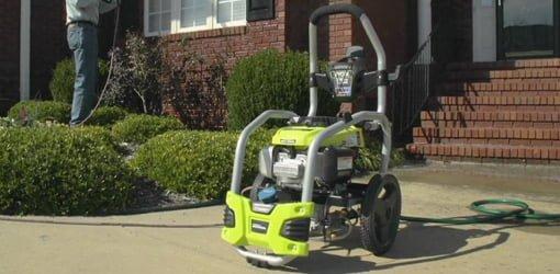 Ryobi Gas Powered Pressure Washer Today S Homeowner