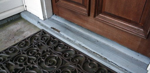 How To Replace A Rotten Entry Door Sill Todays Homeowner Page 11012
