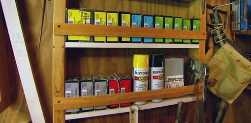 DIY Workshop or Garage Storage Shelves  Todays Homeowner