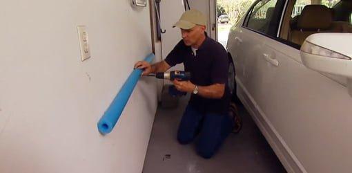 sofa ball stopper lee industries slipcovers diy garage hacks | today's homeowner
