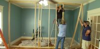 How to Build a Non-Load Bearing Interior Wall | Today's ...
