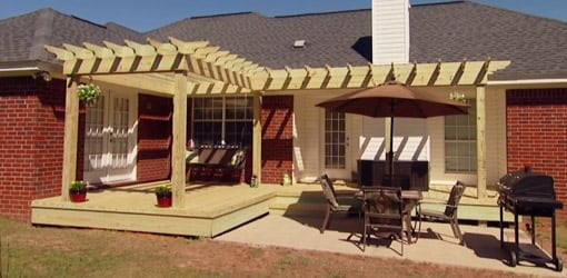 How to Build a Pergola Shade Arbor for Your Yard  Todays