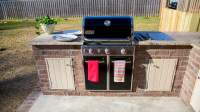 How to Build Cabinets for an Outdoor Kitchen | Today's ...