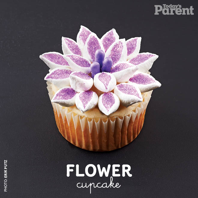 Cupcake Decorating Ideas Flower How To Video