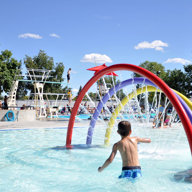 Wave Pool At West Edmonton Mall Picture Of