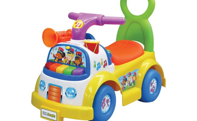 Review Fisher Price Little People Music Parade Ride On