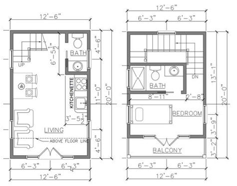 Free Cabin Plans from HousePlansArchitect.com