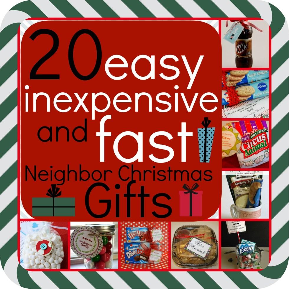 Small Inexpensive Christmas Gifts -