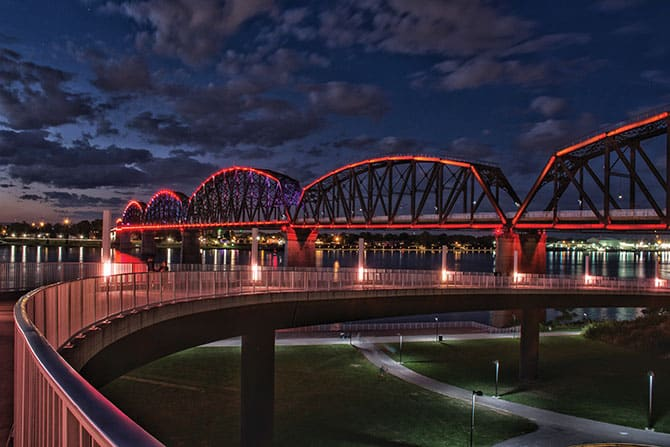 Community Gifts: Big Four Bridge & Waterfront Park
