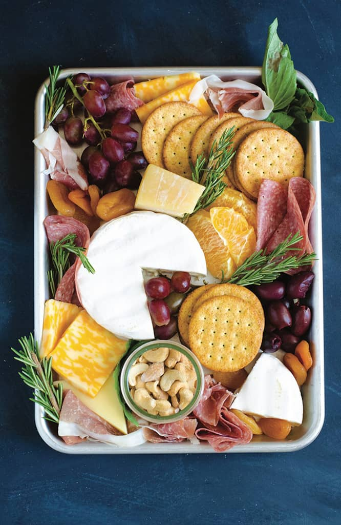 Easy Cheese and Veggie Boards