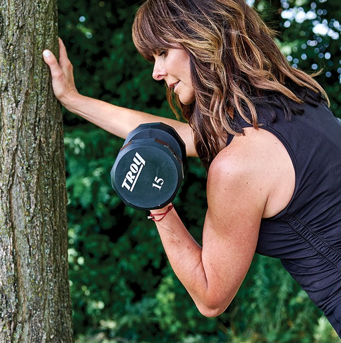 Why She Fights Against Losing Muscle