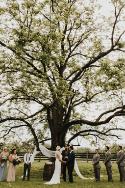 This Couple's Spin on a Rustic Farmland Wedding