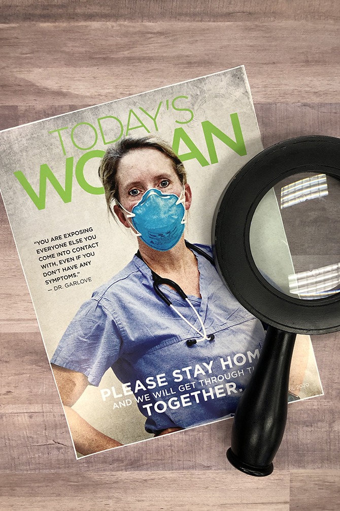 Read Today's Woman April Issue and Win a Prize
