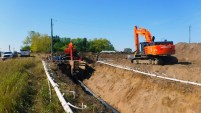 Pipeline Construction between Lacombe and Blackfalds