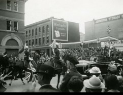 Lord Strathcona's on Parade in Calgary 1939