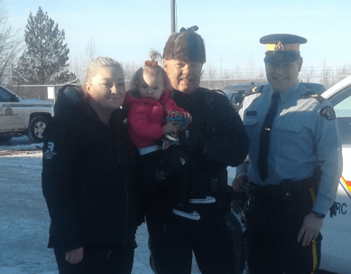 Thanks to Athabasca RCMP