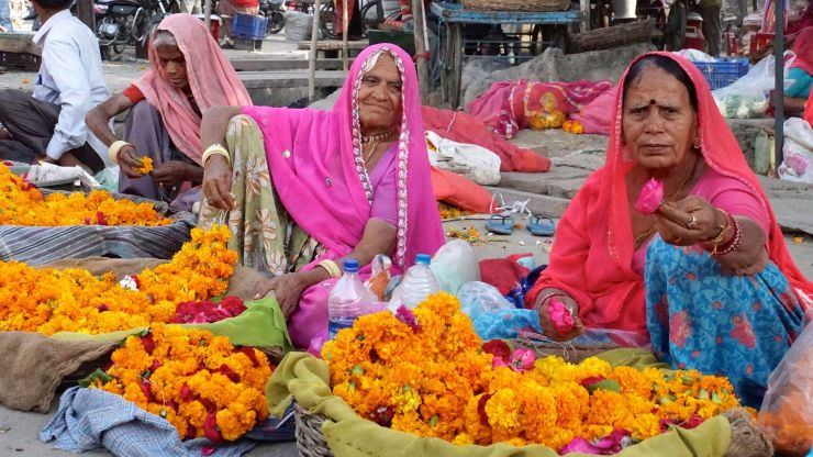 Women selling wares