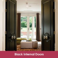 Black Paint Finish Doors - Exterior Timber Doors ...