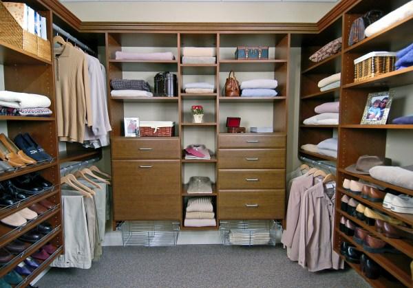 Walk-In Closet Organizer Systems