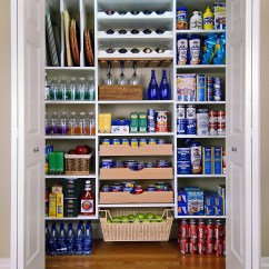 Kitchen Pantry Storage Oak Chairs Makeover With Easy Custom Diy Shelving From
