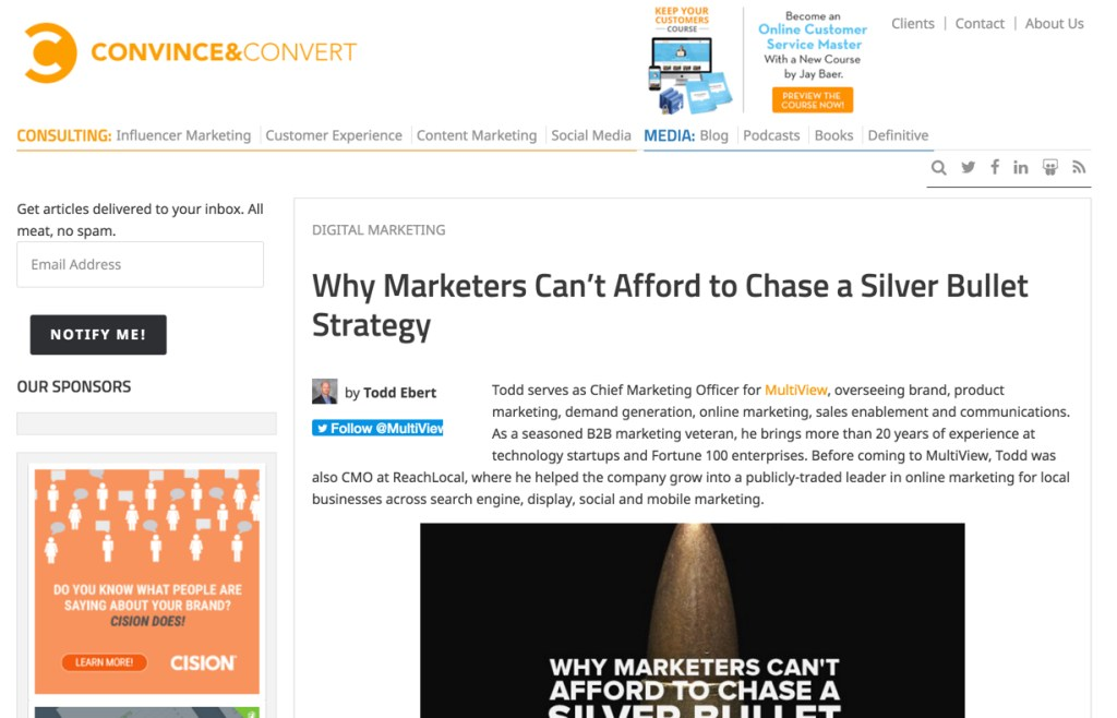 todd ebert on marketing strategy