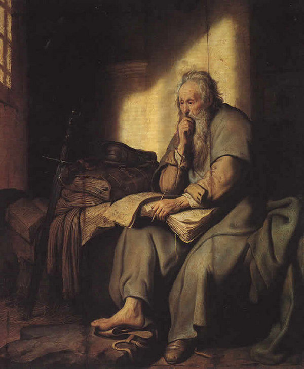 Rembrandt's St. Paul in Prison