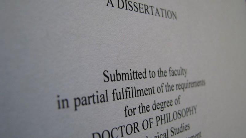dissertation template