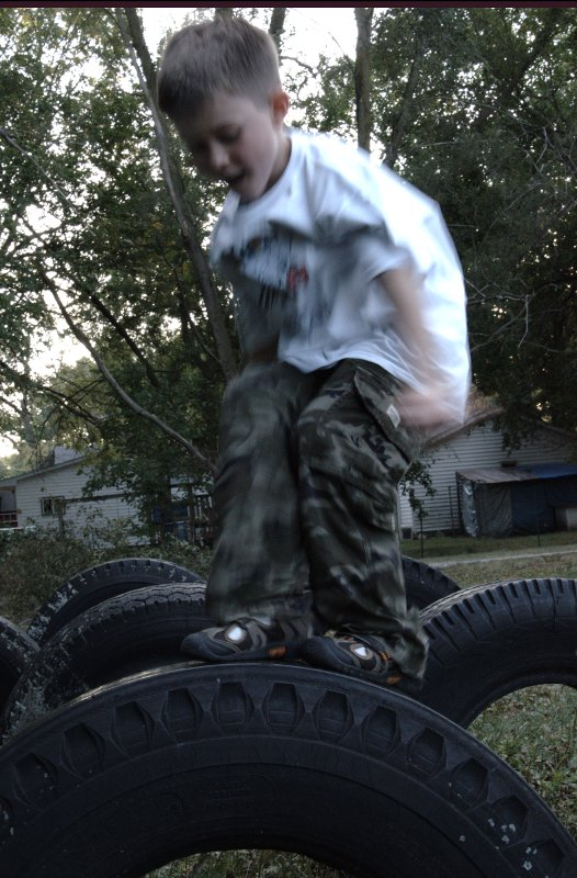 tire jumping max