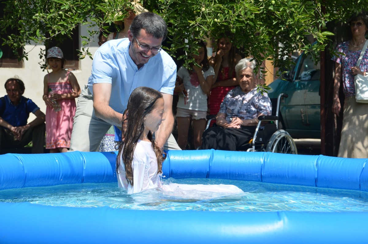 Elisabeth is Baptized with Two Others at This Year's Baptism Celebration (gallery)