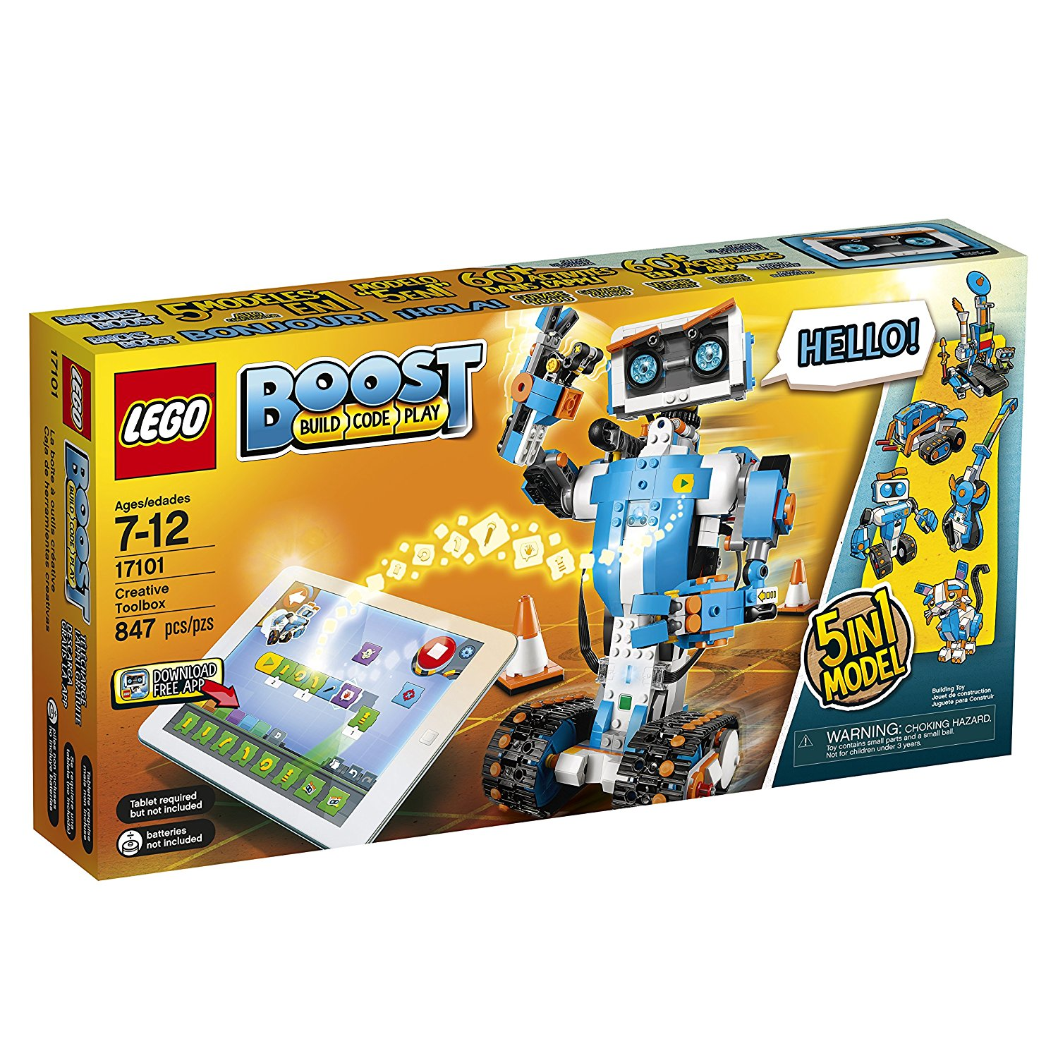 Lego Creative Boost Toolbox A Major Player At The Toy