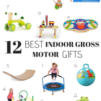 12 Best Indoor Gross Motor Gifts- Gift Guide