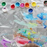Foil Painting- Invitation to Create