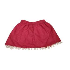 peach reversible skirt 2