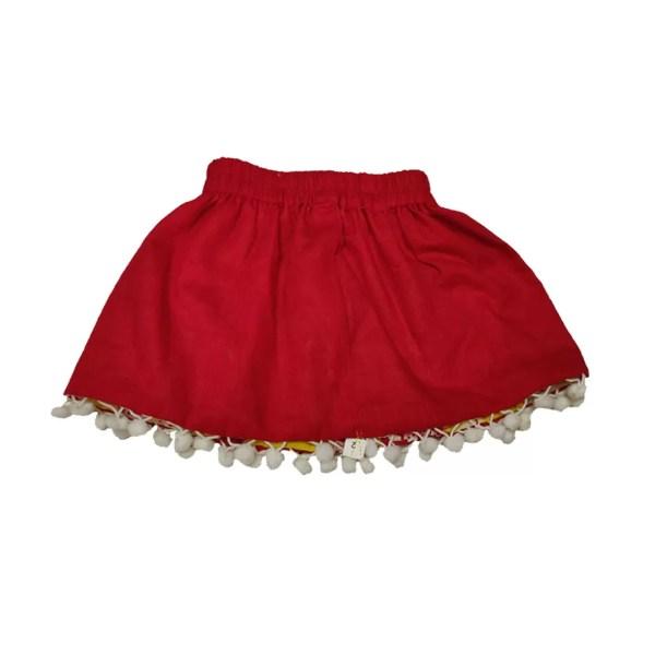 yellow reversible skirt 2