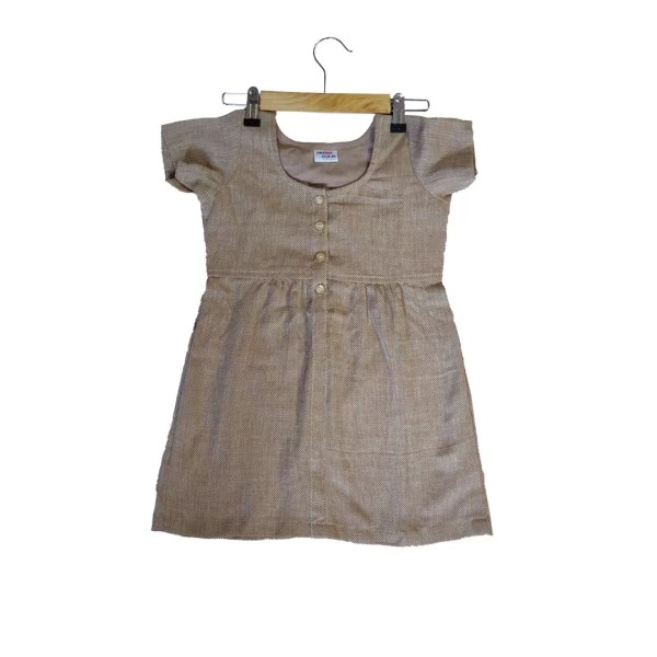 brown frock front