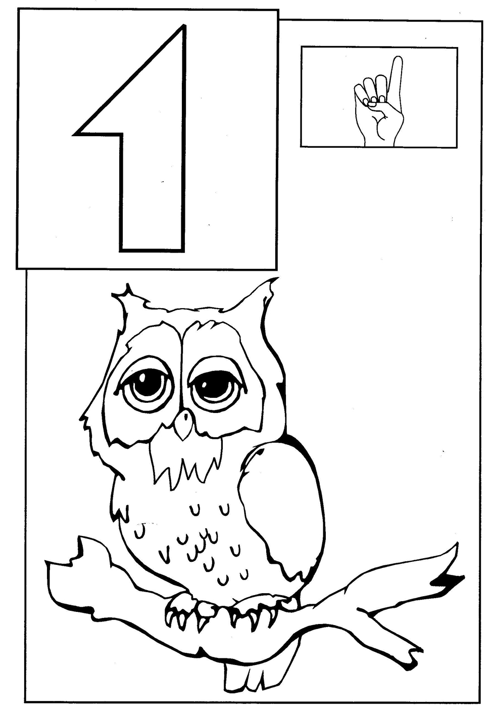 Toddler Coloring Pages | animal coloring pages for toddlers