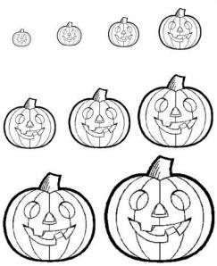 Halloween Pumpkin Hunt printouts