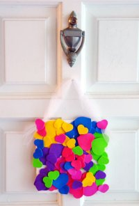 Beautiful Hearts Door Decoration  Toddler Activities ...