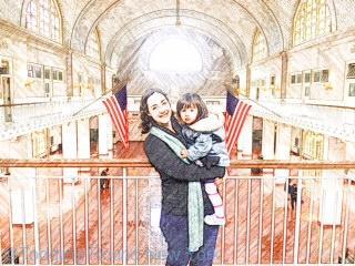Ellis Island's Great Hall