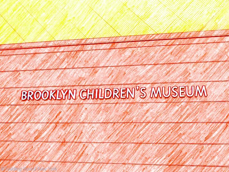 Brooklyn Children's Museum - easy to spot
