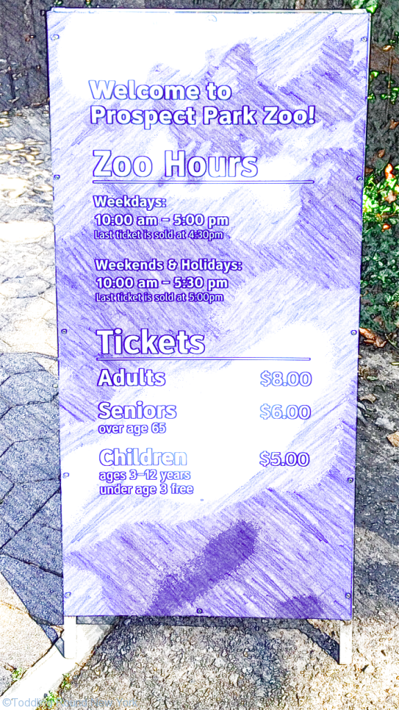 Prospect Park Zoo - hours and prices