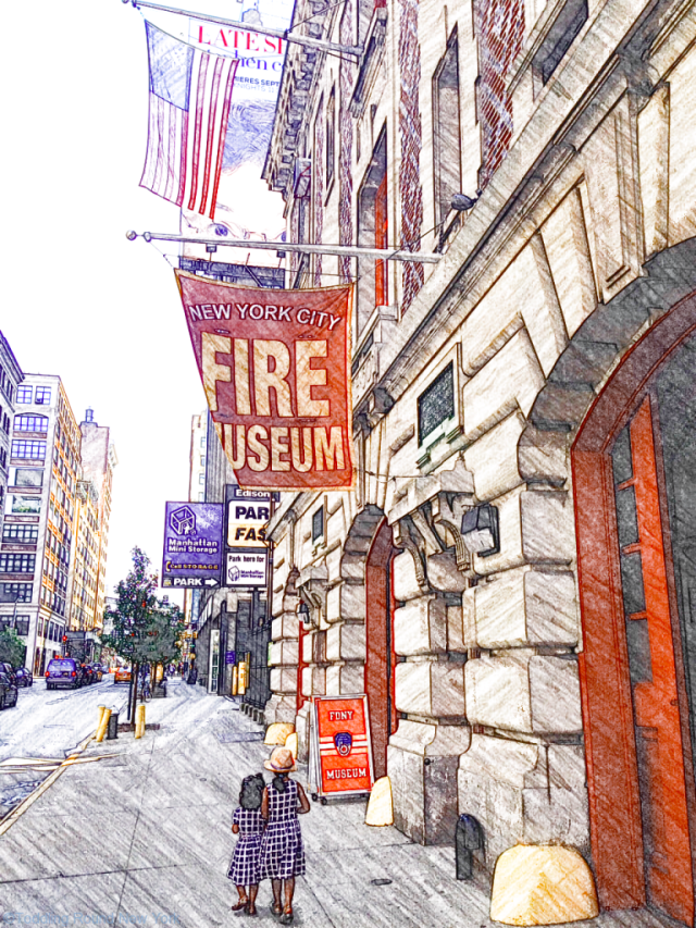 The FDNY Museum on Spring Street, Manhattan