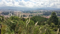 View of Cuenca from zoo