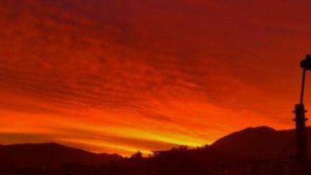 Sunset's splendor