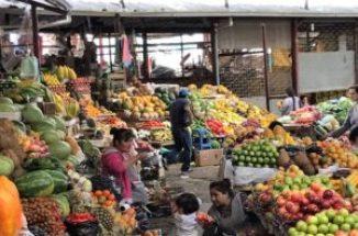 feria libre fruit stands