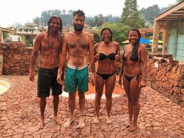Mud Day Fun Day in Cuenca (Easton, Paul, Cameron, Shawna)