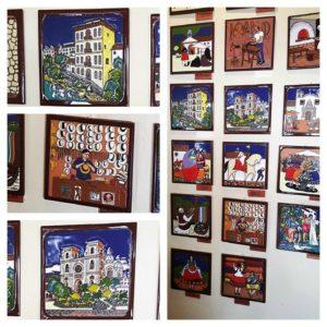 Tile Art at Eduardo Vega Gallery