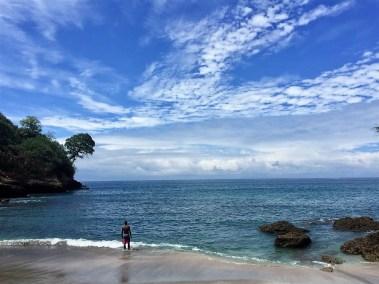 Black Sand Beach, Mompiche, Ecuador